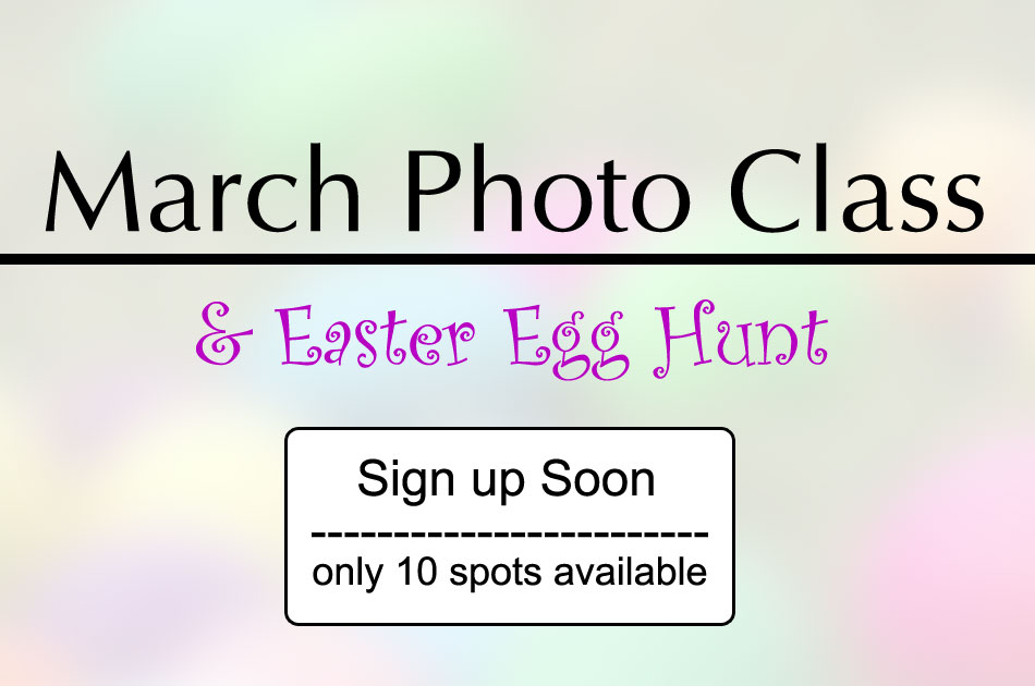 Easter photo class