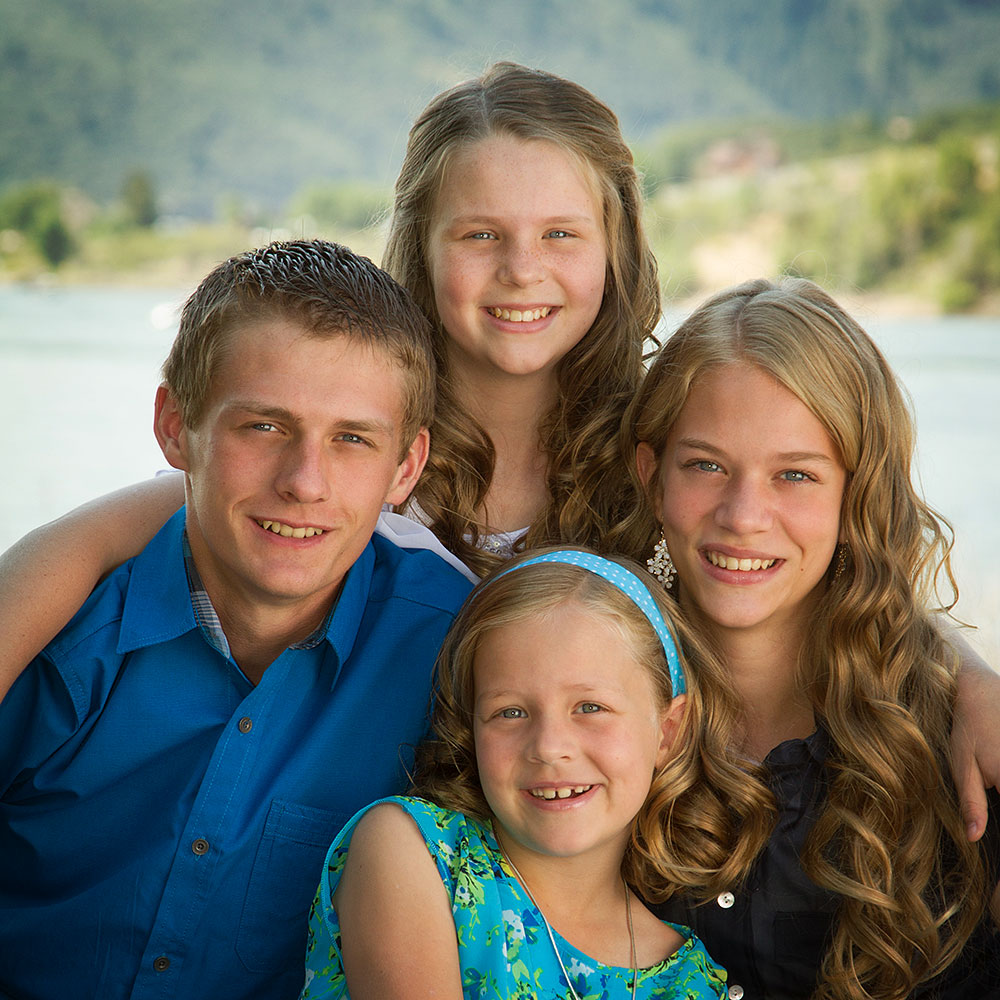family portrait pineview