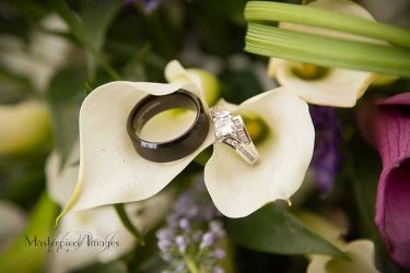 Symbols of love in the lilies
